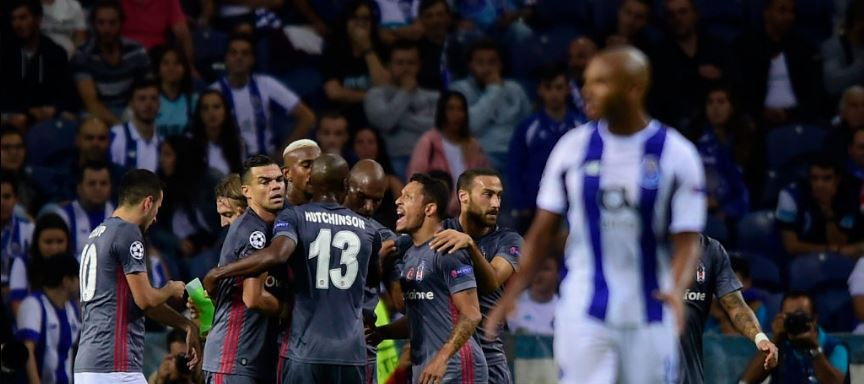 Le FC Porto s'incline face à Besiktas en Ligue de Champions