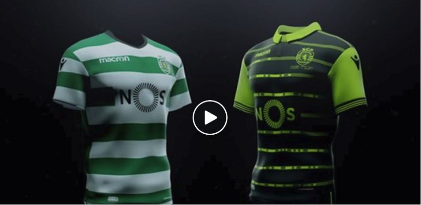 Maillot Sporting CP 2018